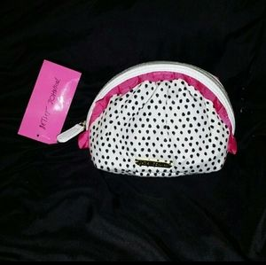 Betsey Johnson Cosmetic Bag